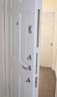 Apartment Door Security