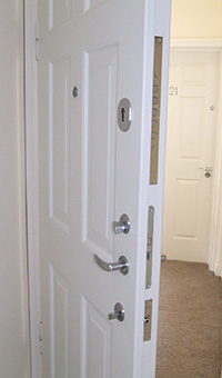 Bedroom Security. Bedroom Door Security