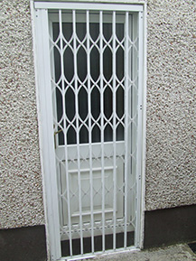 Back Door Grille Window Security Bar
